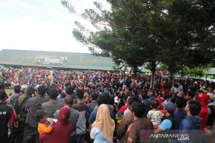 Ribuan pengungsi Wamena kembali ke rumah