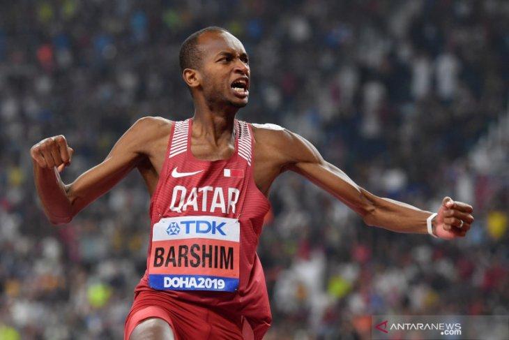 Mutaz pertahankan gelar juara dunia lompat tinggi