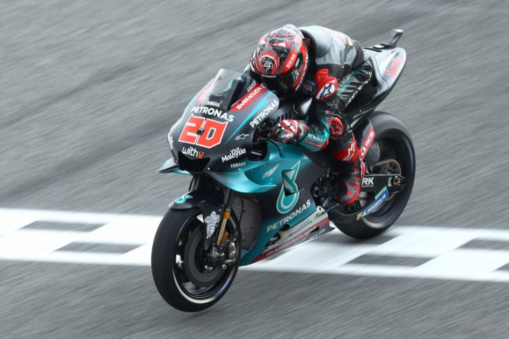 Quartararo klaim pole position GP Thailand