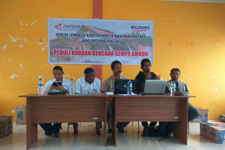 P2LD LIPI Ambon sosialisasi kegempaan di desa Morela