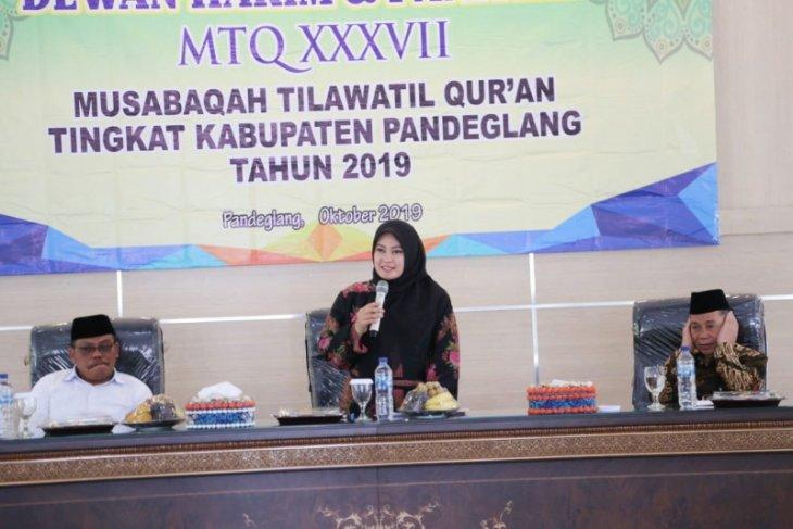 Bupati Irna:  Tahun depan Dewan Hakim MTQ bersertifikat untuk lahirkan kafilah berkualitas