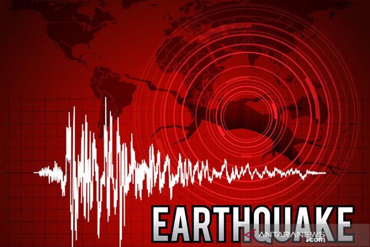 Gempa bumi Jailolo-Malut akibat penyesaran lempeng laut