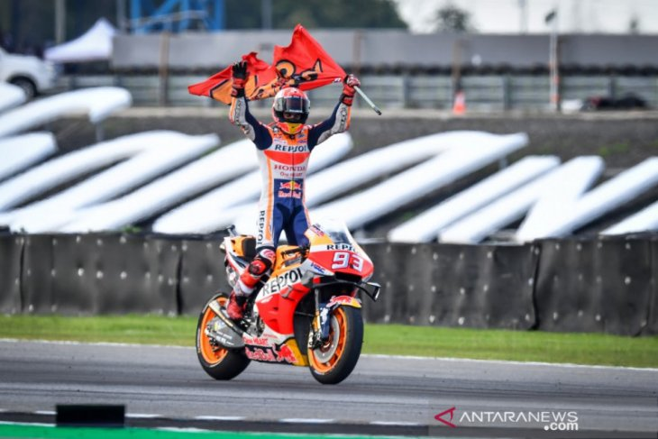 Marc Marquez mengunci juara dunia MotoGP 2019