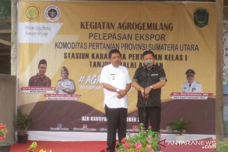 Wabup dan Ketua DPRD Labura wacanakan hibah bibit bagi masyarakat