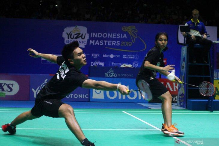 Ganda campuran Indonesia kalah