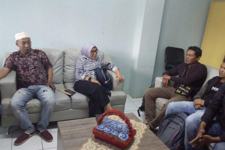 Tiba di Serang, tujuh warga Banten dipulangkan dari Papua