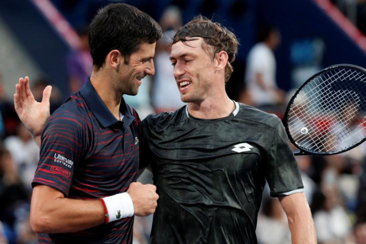 Novak Djokovic menangi Japan Open