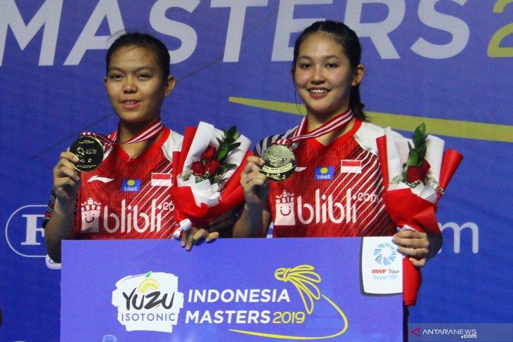 Ganda putri Indonesia juara Yuzu Indonesia Master