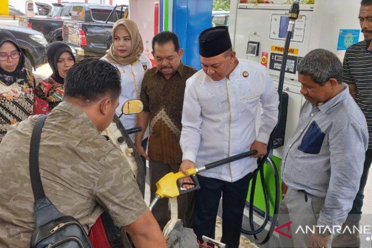 Bupati resmikan SPBU di Sungai Durian