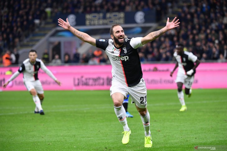 Hasil dan klasemen Liga Italia: Juve kembali depak Inter dari pucuk