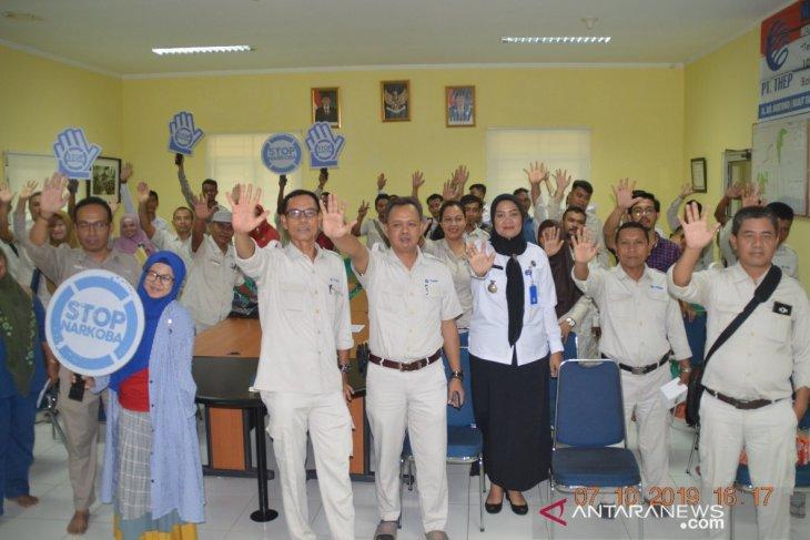 BNN Bangka sosialisasi pencegahan narkoba ke karyawan perusahaan perkebunan