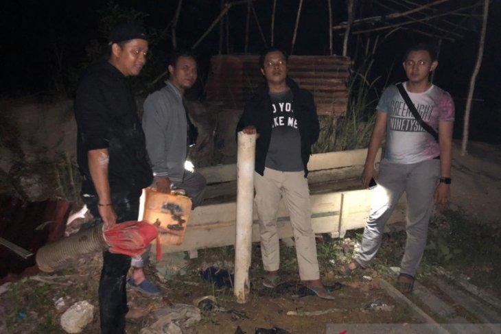 Polisi Resor Bangka Barat tertibkan tambang liar Bukit Menumbing