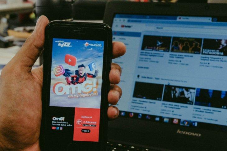 Telkomsel Hadirkan Paket OMG! untuk pelanggan suka Youtube-Medsos