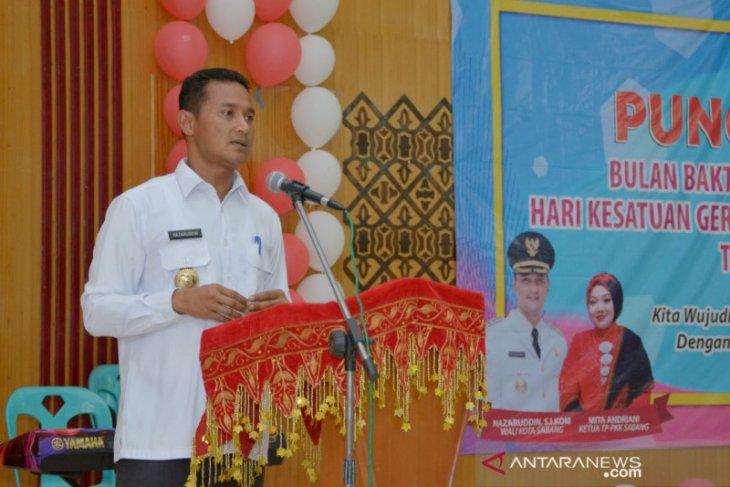 Walikota Sabang ajak perkuat nilai gotong royong dalam  masyarakat