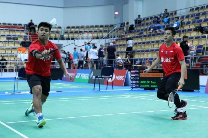 Dua ganda putra Indonesia lolos kejuaraan dunia
