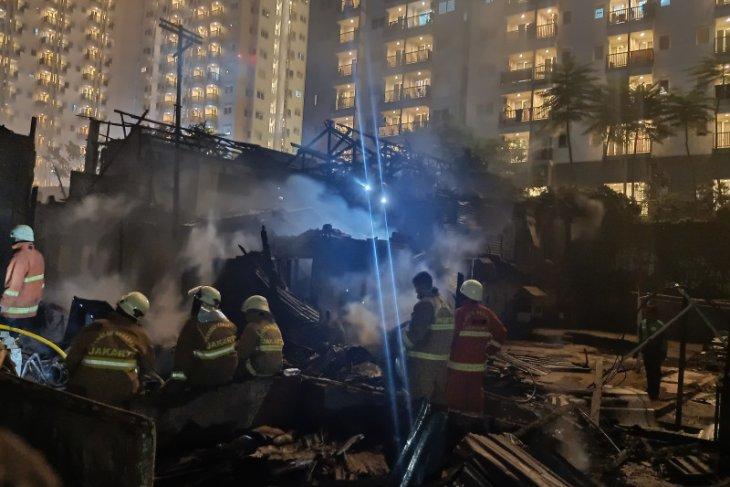 Akibat gas bocor, 20 rumah di Cawang Atas terbakar