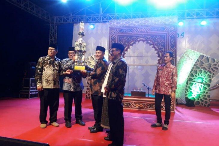 Kecamatan Saketi Juara Umum MTQ Kabupaten ke-37