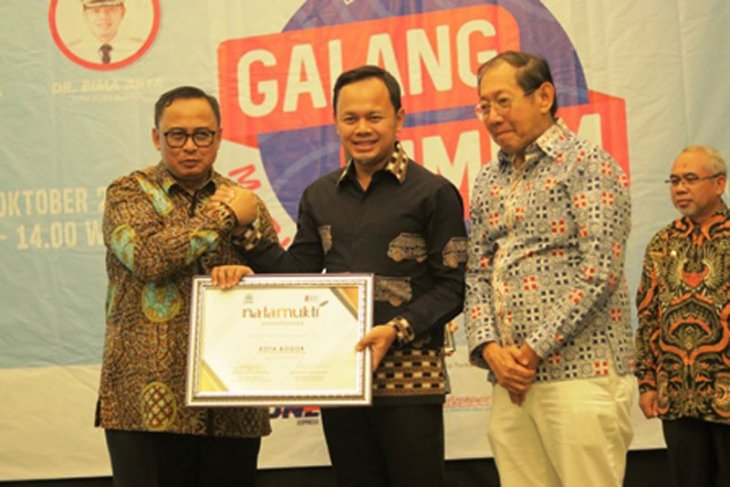 Kota Bogor sabet tiga penghargaan di Natamukti Award 2019
