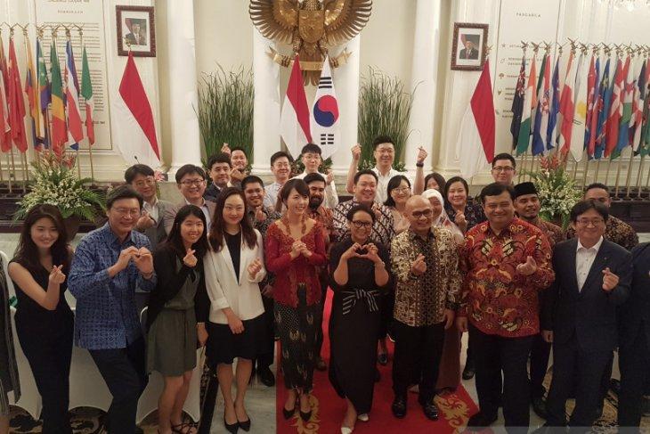 インドネシアと韓国はミレニアル世代を通じて関係を強化する
