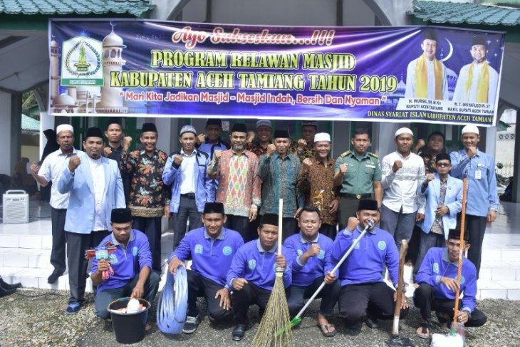 Wabup Aceh Tamiang dorong relawan masjid bangkitkan kepedulian  pemuda