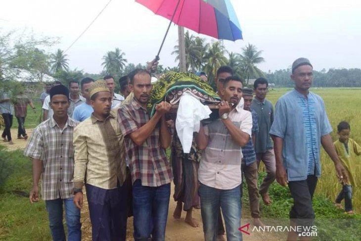 Jenazah nelayan dari Myanmar tiba di Aceh Timur