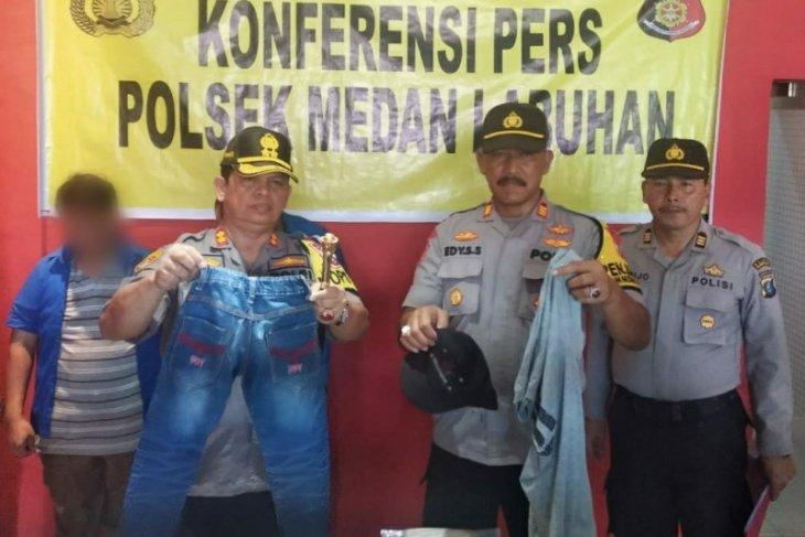 Sodomi 2 bocah dengan iming-iming makanan, pria di Medan dibekuk polisi
