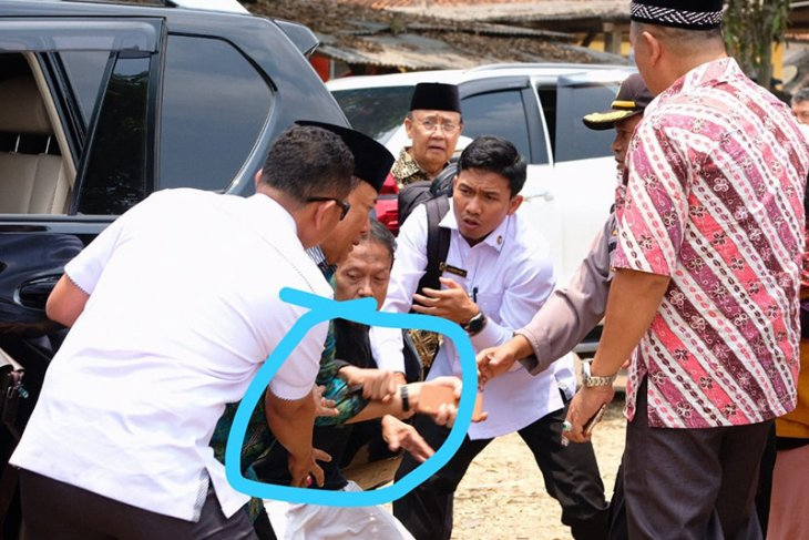 Wiranto dievakuasi ke Jakarta
