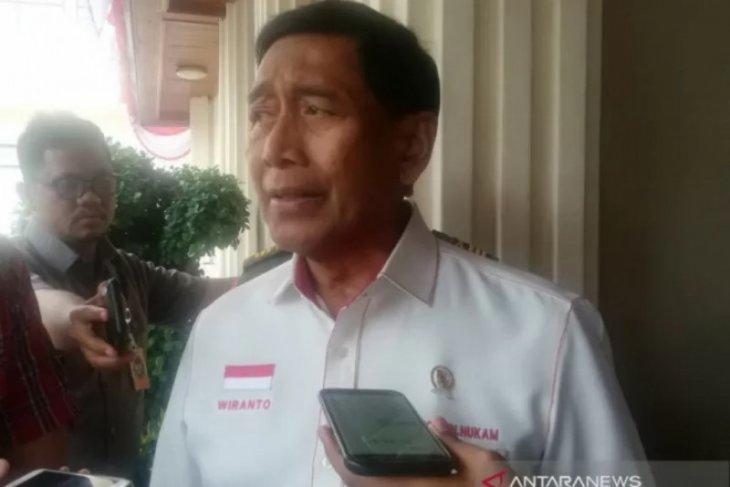 Wiranto masuk RSUD Berkah Pandeglang Banten