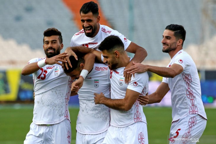 Kualifikasi Piala Dunia 2022 Asia, Iran hancurkan Kamboja 14 gol tanpa balas