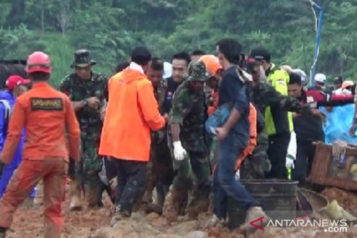 627 kasus bencana  terjadi di Sukabumi sepanjang Januari-September