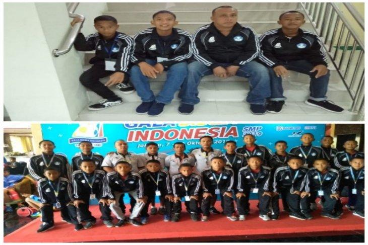 Tiga pelajar SMP Tebing Tinggi ikut tim Gala siswa Sumut