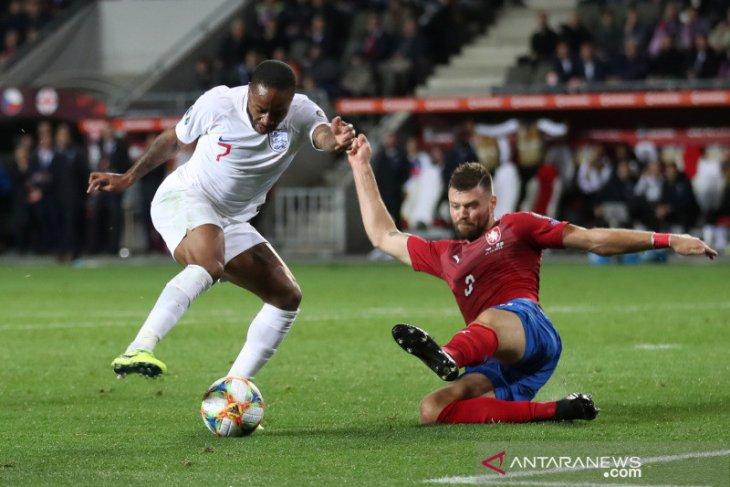 Kualifikasi Piala Eropa - Inggris terjungkal di Ceko, telan kekalahan perdana
