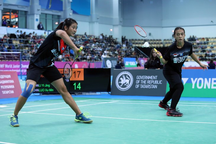 Indonesia's Febriana/Amalia advances to  WJC 2019 finals