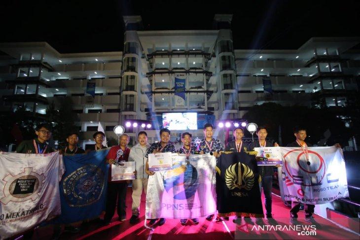 Tim UMM raih dua gelar Kontes Kapal Cepat tak Berawak Nasional 2019