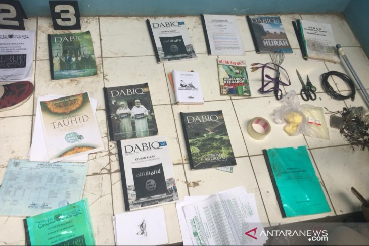 Seorang terduga teroris diamankan Densus 88