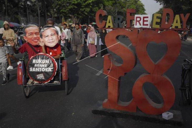 Topeng Jokowi-Prabowo