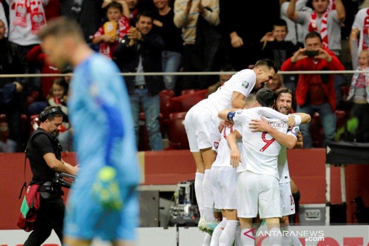 Polandia lolos putaran final Piala Eropa 2020