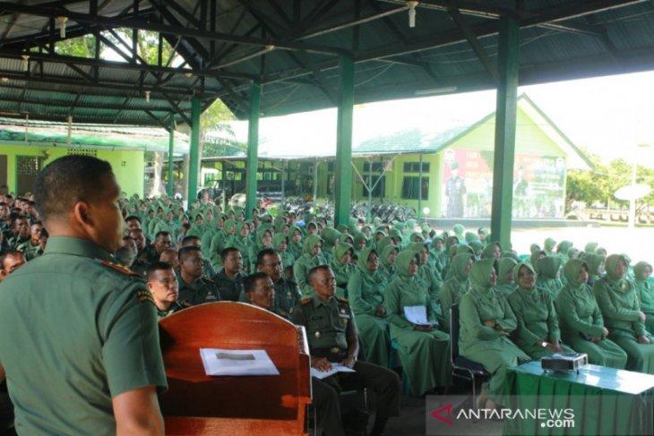 Dandim Nagan Raya imbau prajurit bijaksana gunakan  media sosial