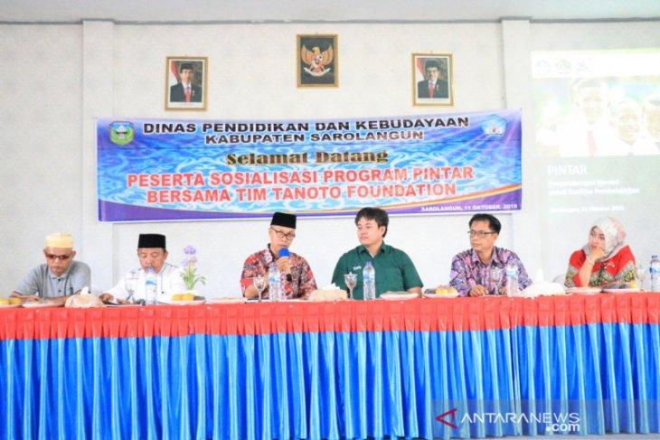 Kabupaten Sarolangun adopsi inovasi pendidikan Tanoto Foundation