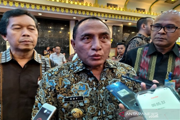 Gubernur  Edy Rahmayadi prihatin Wali Kota Medan terjaring  OTT KPK