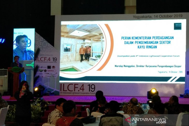 Indonesia's lightwood potential for export to Europe