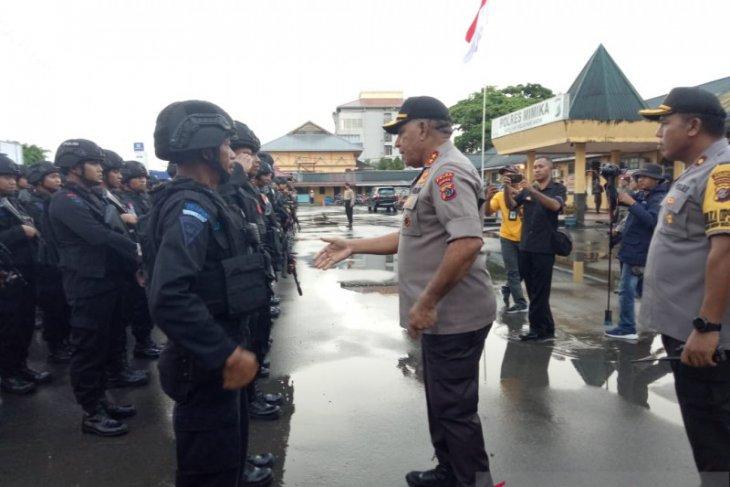 Stay alert, Papua police chief warns Mimika policemen
