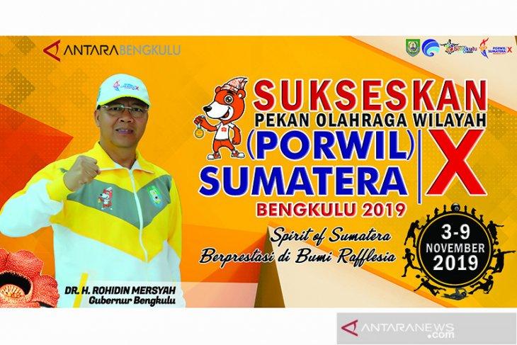 Venue Porwil Sumatera di Bengkulu siap 100 persen