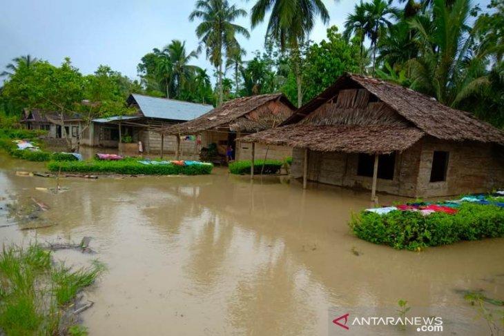 Ratusan rumah di Nias terendam  banjir