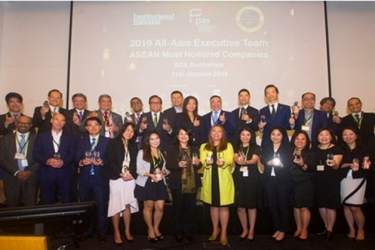 Inaugural 2019 All-Asia Most Honored Companies Awards-ASEAN names 24 Regional Companies for Investor Relations Excellence