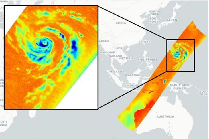 Orbital Micro Systems (OMS) Captures High Resolution Passive Microwave Imagery of Typhoon Hagibis