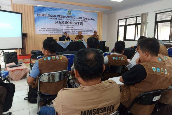 Pendamping Jamsosratu Dinsos Banten berikan pembinaan