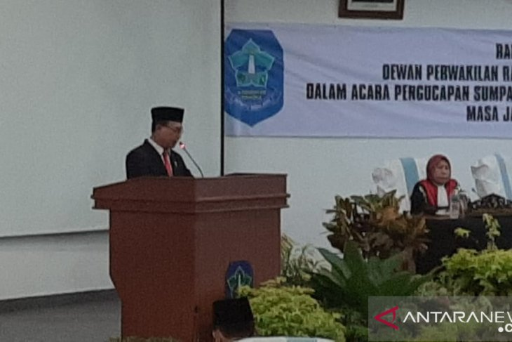 Wabup Bangka yakin legislatif dapat bersinergi dengan eksekutif