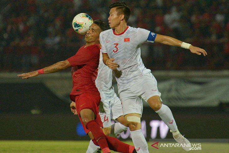 Main di Bali, Timnas Indonesia dipecundangi Vietnam 1-3