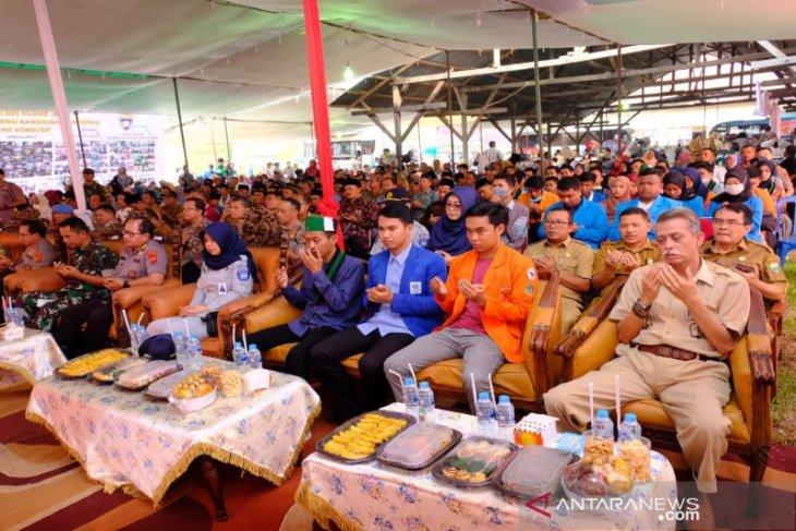 Bupati Muarojambi dukung pelantikan Presiden dan Wakil Presiden berjalan kondusif